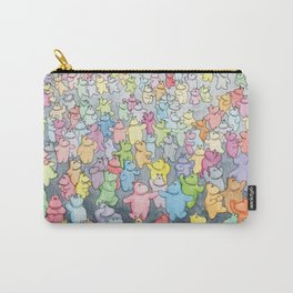 Time to dance! Hippo party illustration Carry-All Pouch