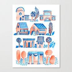 Quaint Village Canvas Print