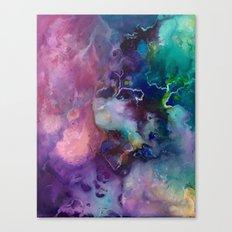 Acrylic Texture Canvas Print