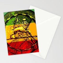 Lion of Judah Haile Selassie King of Kings Stationery Cards
