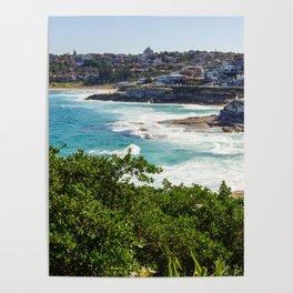 Sydney Coastline Poster