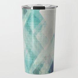 pastel art, pastel abstract, watercolor art print, Abstract art, blue abstract, abstract print Travel Mug