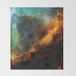 Nebula Omega Throw Blanket