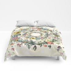 Circle of Life Cream Comforters