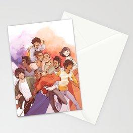 Les Miserables: Un Groupe Qui a Failli Devenir Historique Stationery Cards