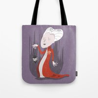 dracula Tote Bags featuring Dracula by Rod Perich