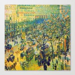 Camille Pissarro Boulevard des Italiens Canvas Print