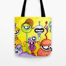 Aliem Friends Tote Bag