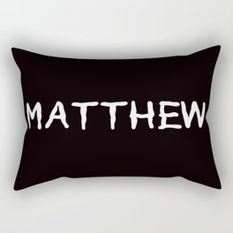 Matthew Rectangular Pillow