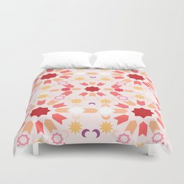 Summer Arabesque Duvet Cover
