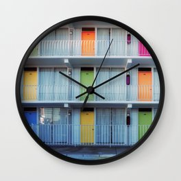 MOTEL COLOUR 5 Wall Clock