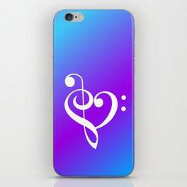Music Heart iPhone Skin