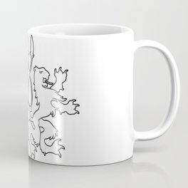 Rampant Lions Series: Version #4 Coffee Mug