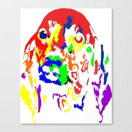 Colorful Dachshund 2018 Modern Fashion Gift Idea Canvas Print