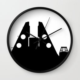 Millennium Falcon - Black Wall Clock