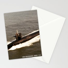 USS TENNESSEE (SSBN-734) Stationery Cards