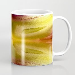Agate Dreams in Yellow Coffee Mug