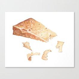 Parmigiano-Reggiano Cheese Canvas Print