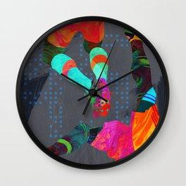 Tropical Soccer III Wall Clock