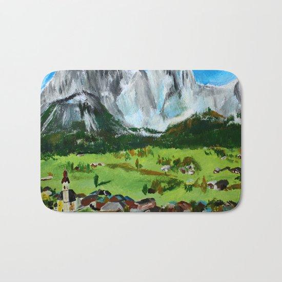 Austria Tyrol Mountains Bath Mat