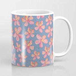 Hibiscus Flowers – Aloha – Hawaii inspired pattern Coffee Mug