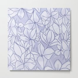 Lavender Bunch Metal Print