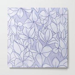 Lavender Bunch Metal Print