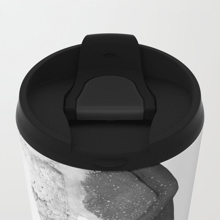 Inconspicuousness (Black & White)  Metal Travel Mug