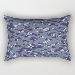 Camouflage: Naval Rectangular Pillow