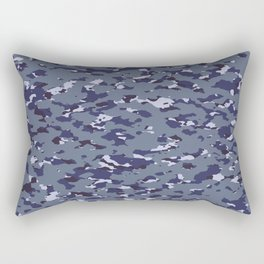 Camouflage: Naval Rectangular Pillow