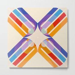 Rudianus - Colorful Abstract Art Metal Print