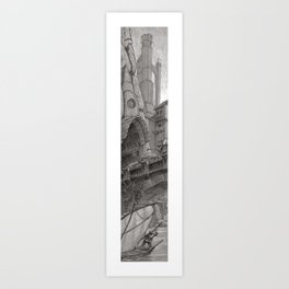 Tower 4 Art Print