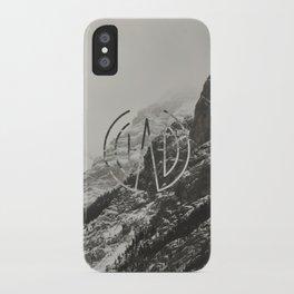 Logo Mount iPhone Case