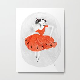 Nine ladies dancing Metal Print