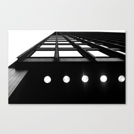 Industrial Beams Canvas Print