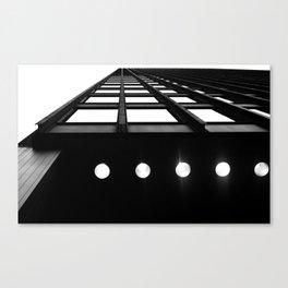 Industrial Beams Canvas Print