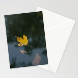 an autumn dream Stationery Cards