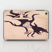 mother iPad Cases featuring Mother by Gerard Marinaccio