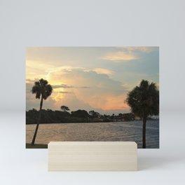 Evening View Mini Art Print