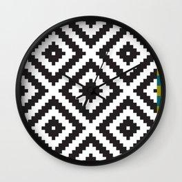 IKEA LAPPLJUNG RUTA Rug Pattern Wall Clock