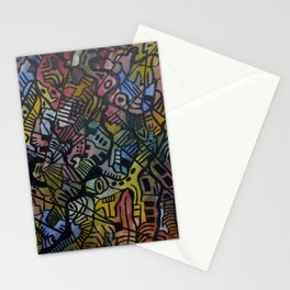 Space Time Stationery Cards