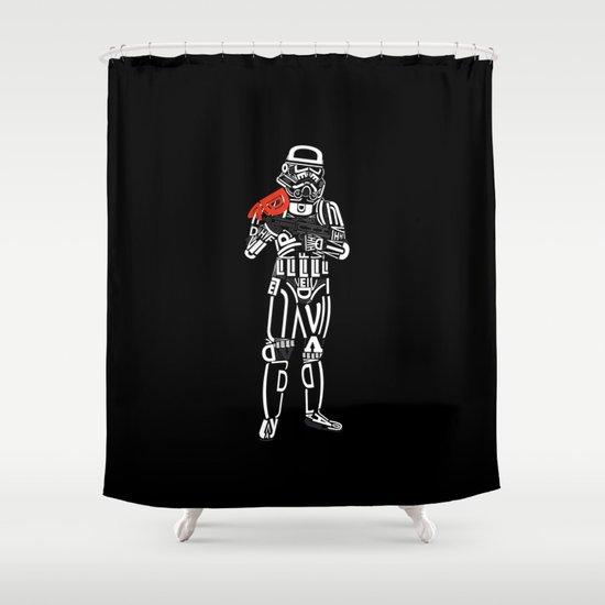 sanstrooper Shower Curtain