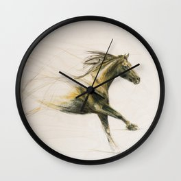 Running Horse Wall Clock
