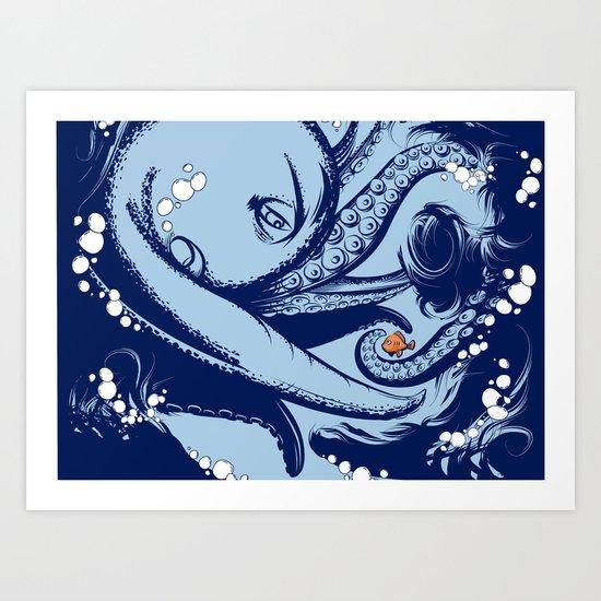 Little Fish Art Print