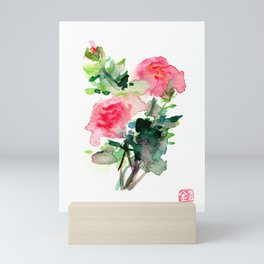 My Roses Don't Smell Like Poop Mini Art Print