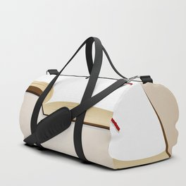 Open book Duffle Bag