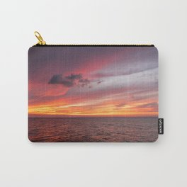 Holbox Sunset Carry-All Pouch