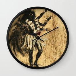Hindu Kali 13 Wall Clock