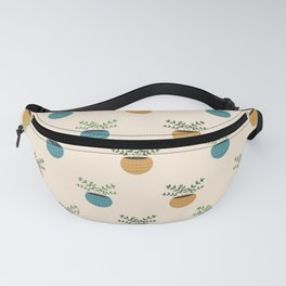 Plant obsession - light theme Fanny Pack
