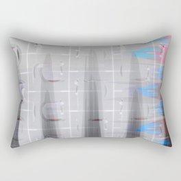 Fabric Wet Paint 2. Rectangular Pillow
